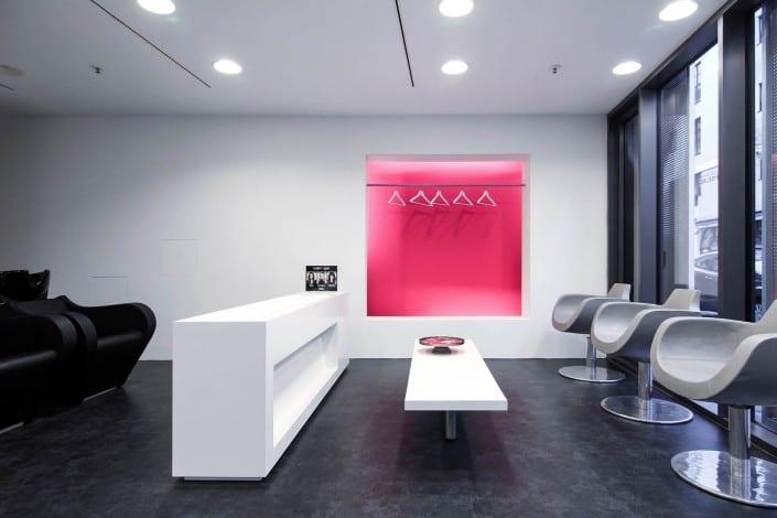 cs friseure m nchen designer friseursalon von stararchitekt cs friseur christian stinner. Black Bedroom Furniture Sets. Home Design Ideas